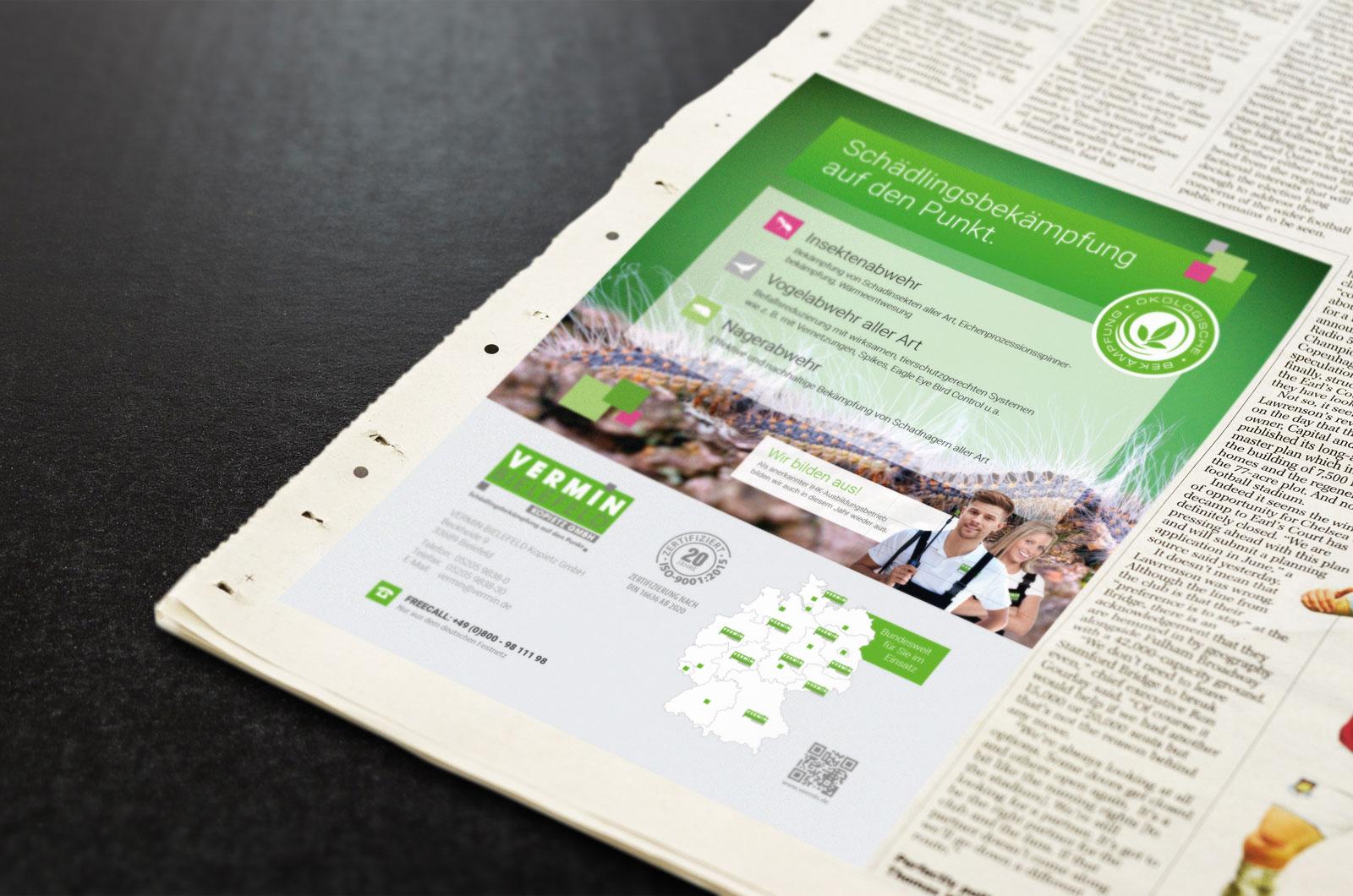 Print - Zeitungsanzeigen